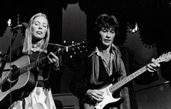 Joni and Robbie Roberts Performing on Stage Vintage Original Photograph
