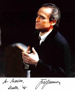 José Carreras Autographed Photograph - 1995