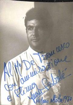 Juan Sabaté Autographed Photograph - 1970s