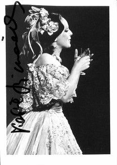 Katia Ricciarelli Autographed Photographed - 1960s