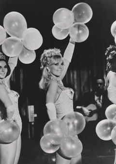 Kim Novak with Balloons Fine Art Print