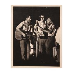 """Kingston Trio"" Iconic American Folk Music Photograph"
