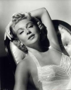 Lana Turner Glamour Portrait in the Studio Vintage Original Photograph