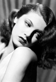 Lana Turner - Silver Gelatin Fibre Print - Oversized