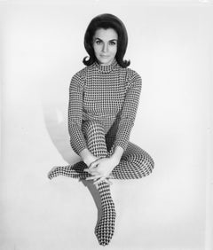 Lara Lindsay in Houndstooth Romper Vintage Original Photograph
