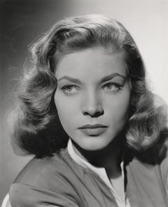 Lauren Bacall Classic Studio Portrait Fine Art Print