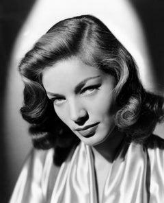 Lauren Bacall: Those Eyes Globe Photos Fine Art Print