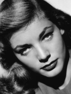 Lauren Bacall: Those Eyes II Globe Photos Fine Art Print