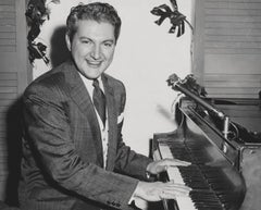 Liberace Smiling at Piano Fine Art Print