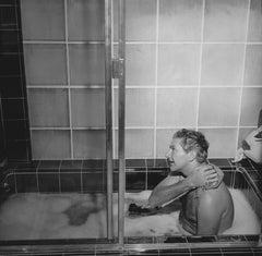 Liberace Taking a Bath Fine Art Print
