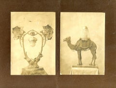 Liberty Design Lamps by Alberto Calligaris - Ancient Photo - 1910s