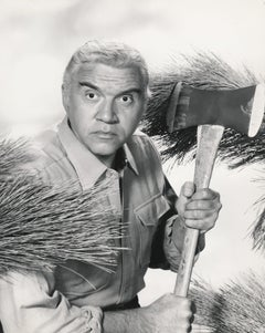 Lorne Greene in Bonanza Fine Art Print