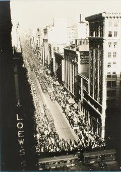 Los Angeles circa 1930 Silver Gelatin Black & White Photograph