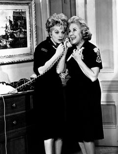 "Lucille Ball and Vivian Vance ""I Love Lucy"" Movie Star News Fine Art Print"