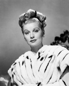 Lucille Ball Glamour on Film Globe Photos Fine Art Print
