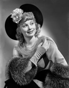 Lucille Ball in Hat Fine Art Print