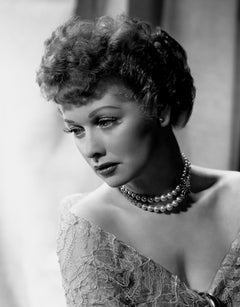 Lucille Ball in Pearls Fine Art Print