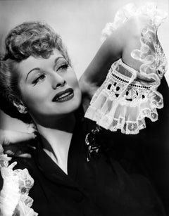Lucille Ball Leaning Back Movie Star News Fine Art Print