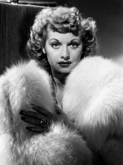 Lucille Ball Profile in Fur Movie Star News Fine Art Print