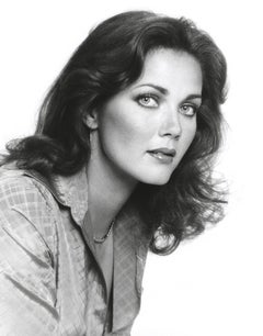 Lynda Carter Profile Studio Portrait Fine Art Print