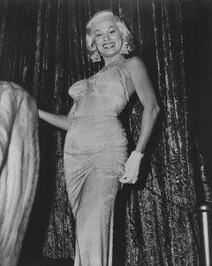 Mamie Van Doren: Glamour on Stage Globe Photos Fine Art Print