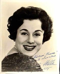 Maria Antonietta Stella Autographed Photograph - 1961