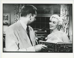 """Marilyn Monroe and Tom Ewell """"The Seven Year Itch"""""""