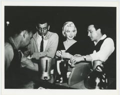"""Marilyn Monroe and Yves Montand in """"Let's Make Love"""" 1960"""