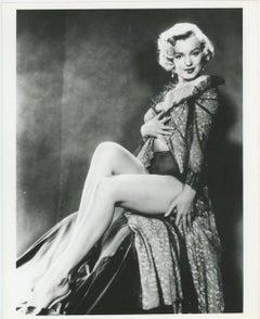 Marilyn Monroe Black & White Lingerie Photoshoot