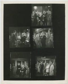 """Marilyn Monroe Filming """"Monkey Business"""" in 1952"""