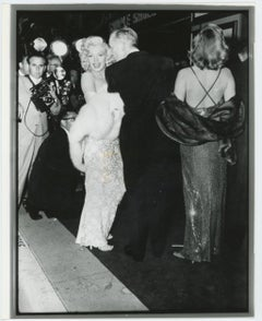 """Marilyn Monroe """"How To Marry A Millionaire"""" Movie Premiere"""