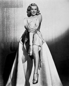 Marilyn Monroe Love Happy Globe Photos Fine Art Print