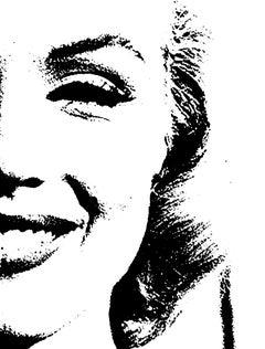 Marilyn Monroe Special Abstract Edition Framed Art Print