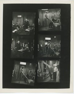 "Marilyn Monroe Stills On Set of the Film ""Monkey Business"" 1952"