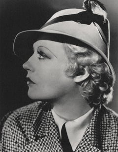 Marion Davies Profile in Hat Globe Photos Fine Art Print