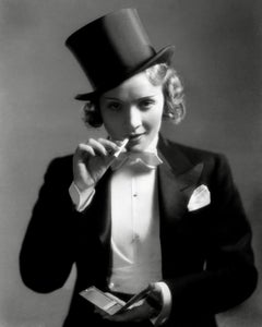 "Marlene Dietrich in Suit for ""Morocco"" Globe Photos Fine Art Print"