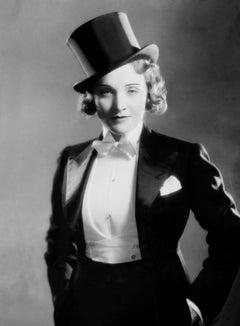 "Marlene Dietrich in Suit for ""Morocco"" II Globe Photos Fine Art Print"