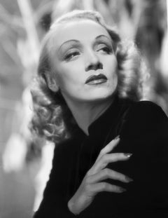 Marlene Dietrich Looking Up Movie Star News Fine Art Print