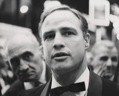 Marlon Brando Candid in Bowtie Fine Art Print