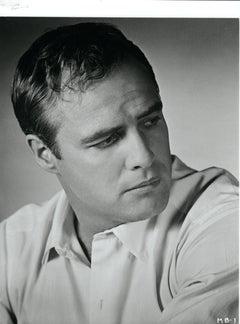 Marlon Brando Heashot Vintage Original Photograph