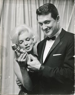 Marilyn Monroe winning the Golden Globe - Press