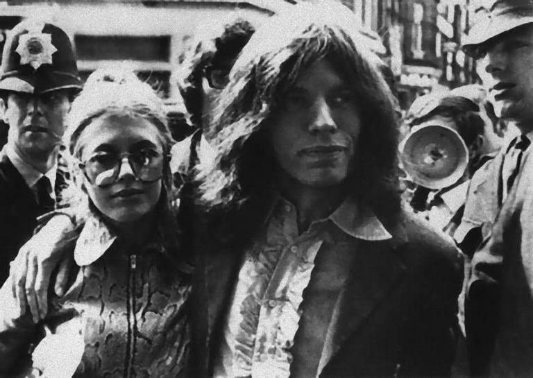 Unknown Portrait Photograph - Mick Jagger - Vintage Photography - 1960s