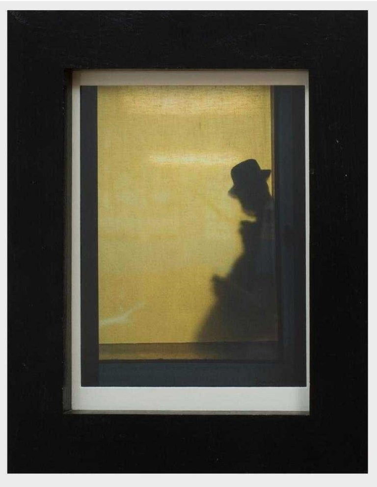 Modern Vintage Color Fujifilm Photograph Jazz Man Photo Small Limited Edition - Black Color Photograph by Unknown