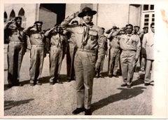 Mohammad Reza Shah - Black and White Photo - Original Photograph - Early 1960s
