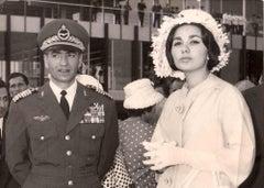 Mohammad Reza Shah, King of Iran - Vintage B/W photo - 1960s