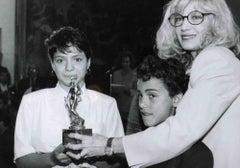 Monica Vitti - Vintage Black and White Photo - 1980s
