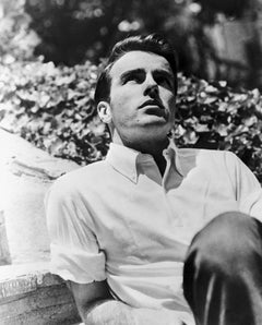 Montgomery Clift Dramatic Outdoors Portrait Movie Star News Fine Art Print