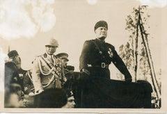 Mussolini At Circus Maximus - Vintage Photo - 1934