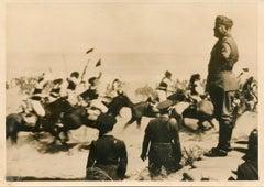Mussolini in Libya - Vintage Photo - 1937