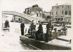 Mussolini in Venice - Vintage Photo - 1937